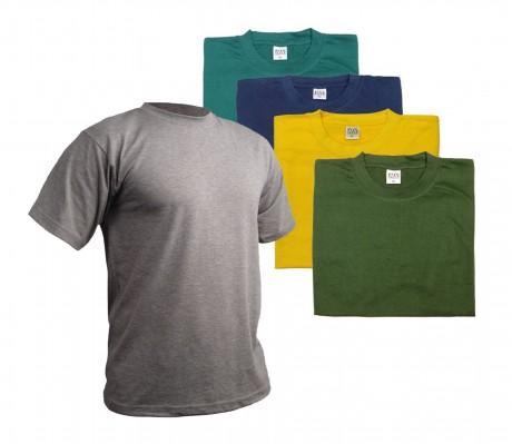 חולצת טריקו חולצת טריקו 160 גרם במבחר צבעים