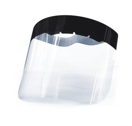 מגן פנים פלסטיק שקוף לשימוש רב פעמי