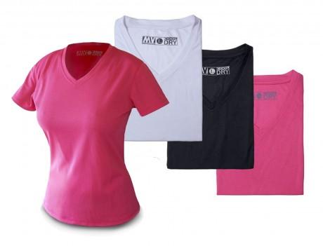 קול דריי נשים - חולצת נשים מנדפת זיעה