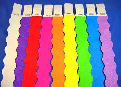 צמידי נייר משוננים