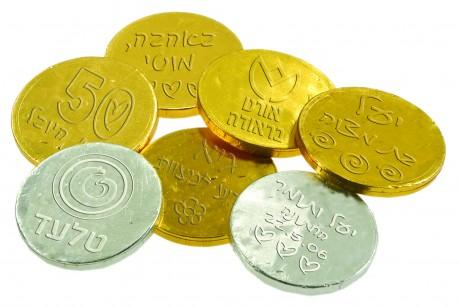 מטבעות שוקולד עם הטבעה אישית כשר למהדרין פרווה/חלבי (מחיר מדורג לפי כמות בפנים)