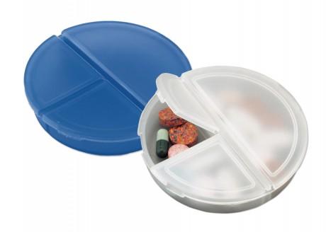 נוטו - קופסת פלסטיק לכדורים 3 תאים