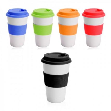 """דופיו - כוס קפה רב שימושית 400 מ""""ל"""