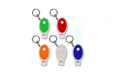 וויסל-מחזיק מפתחות עם משרוקית פנס ומחזיר אור