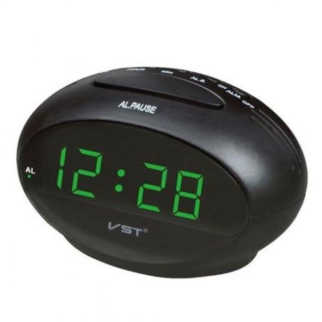 שעון מעורר חשמלי עם סוללת גיבוי. גודל 13 ס
