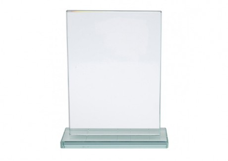 מגן זכוכית מלבני על בסיס זכוכית 17X12 ס