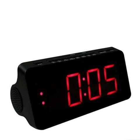 שעון מעורר חשמלי עם רדיו